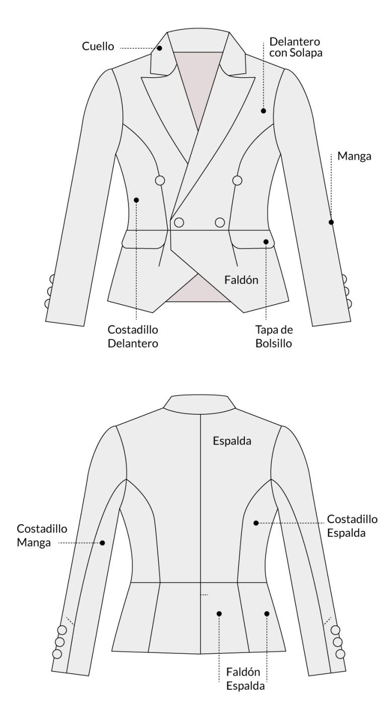 geometralBLAZERbalmain
